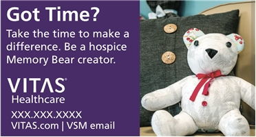 New Volunteer Recruitment Magnet Bear- Please allow 2-3 weeks for delivery