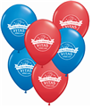 Patriotic Balloons - Sold 100/Bag