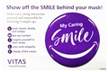 """My Caring Smile"" Buttons"