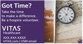New Volunteer Recruitment Magnet Pocket Watch - Please allow 2-3 weeks for delivery